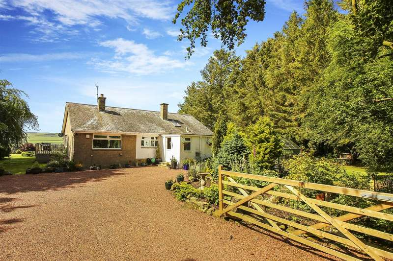 3 Bedrooms Bungalow for sale in The Firth, Overgrass, Morpeth