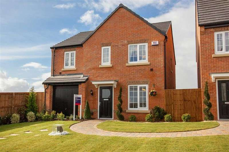 3 Bedrooms Semi Detached House for sale in Hunloke Grove, Derby Road, Wingerworth, Chesterfield, S42