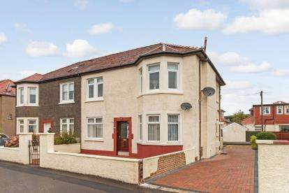 2 Bedrooms Flat for sale in Huttonpark Crescent, Largs