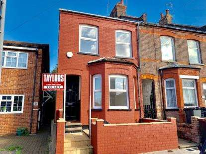 3 Bedrooms End Of Terrace House for sale in Tennyson Road, Luton, Bedfordshire, England