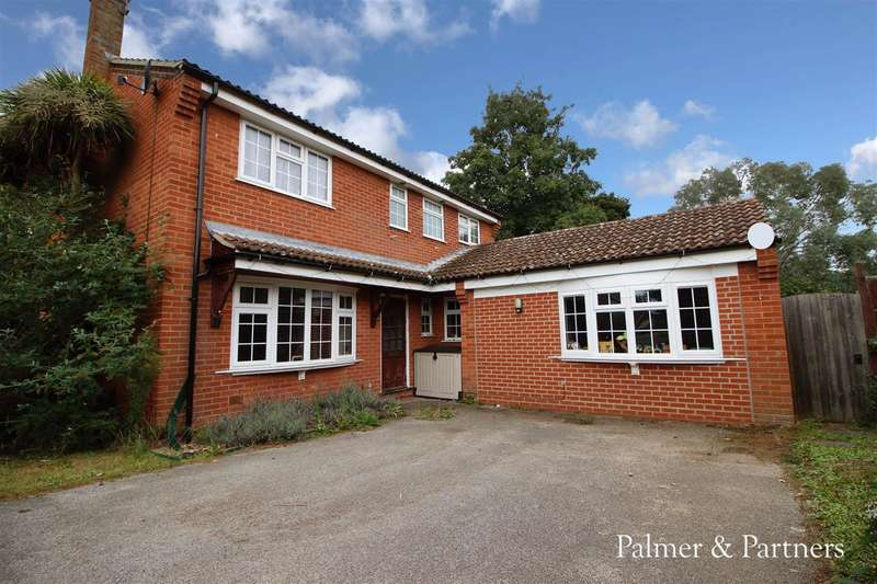 4 Bedrooms Detached House for sale in Platters Close, Ipswich