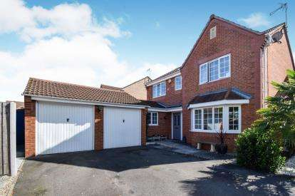 4 Bedrooms Detached House for sale in Weir Close, Wigston, Leicester, Leicestershire