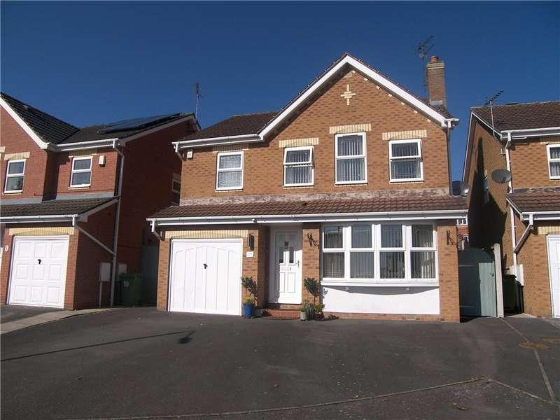 4 Bedrooms Detached House for sale in Beeley Close, Belper, Derbyshire, DE56