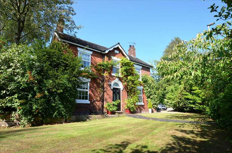 5 Bedrooms Detached House for sale in Irelands Cross House, Woore, Cheshire