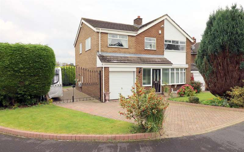 4 Bedrooms Detached House for sale in Quarry Farm Close, Hunwick, Crook, DL15 0XJ