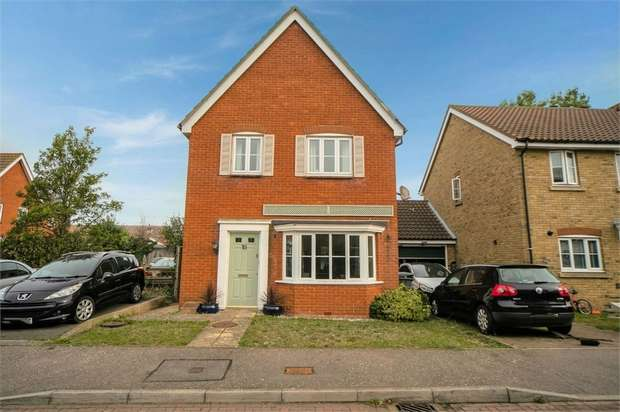 3 Bedrooms Detached House for sale in Plover Close, Herne Bay, Kent