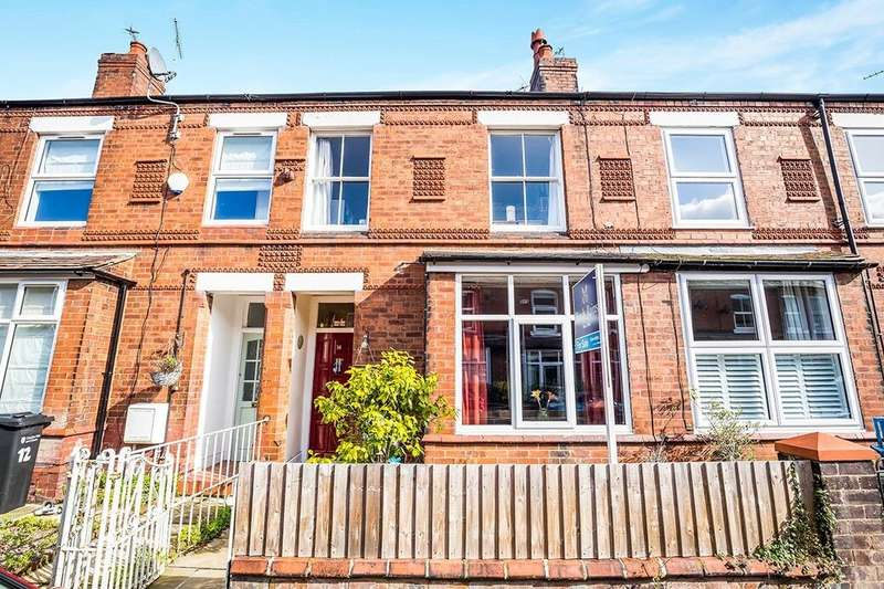 3 Bedrooms Terraced House for sale in Clare Avenue, Hoole, Chester, CH2