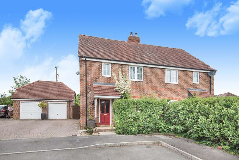 4 Bedrooms Semi Detached House for sale in Rutherford Close, Highclere RG20