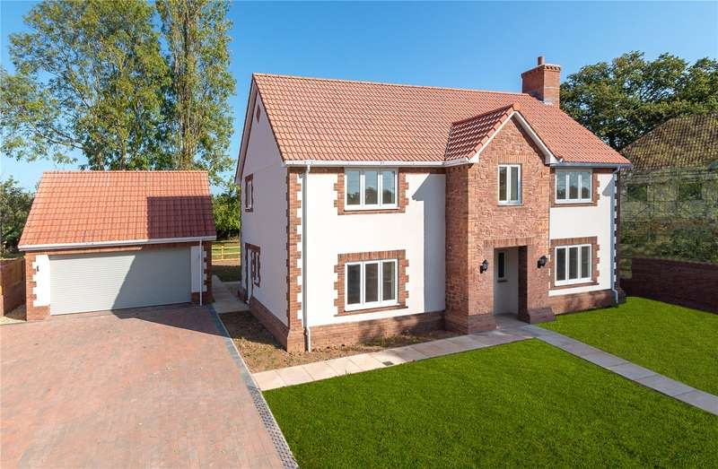 4 Bedrooms Detached House for sale in Langaller,, Taunton,, Somerset, TA2
