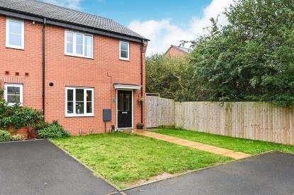 3 Bedrooms End Of Terrace House for sale in Harebell Lane, Stenson Fields, Derby, Derbyshire