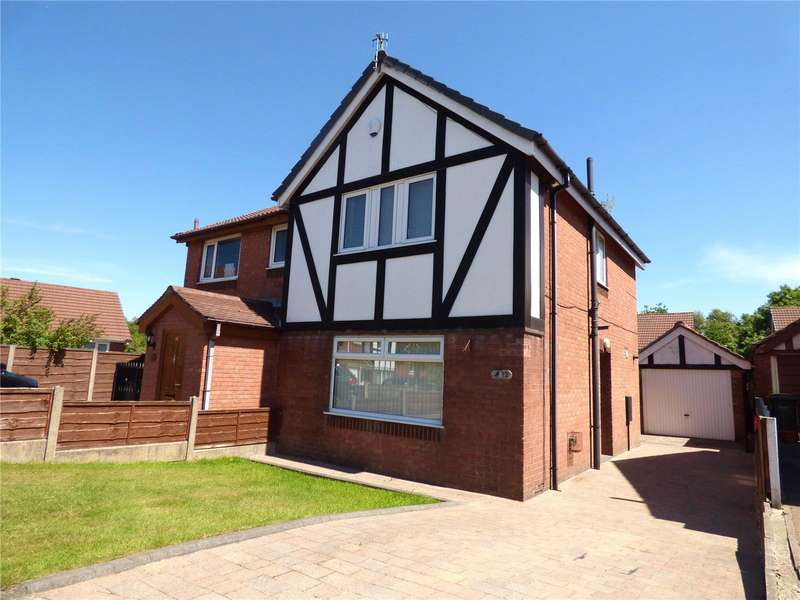 3 Bedrooms Semi Detached House for sale in Roe Lane, Salem, Oldham, Greater Manchester, OL4