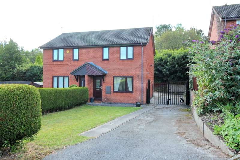 2 Bedrooms Semi Detached House for sale in Coed Y Nant, Penycae, Wrexham