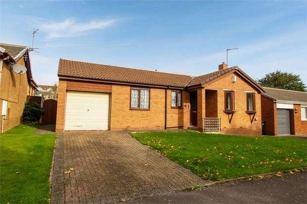 2 Bedrooms Detached Bungalow for sale in Kielder Drive, Trimdon Grange, Trimdon Station, Durham