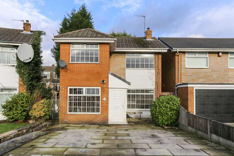 3 Bedrooms Detached House for sale in Birchwood Close, Heaton Mersey, Stockport, SK4