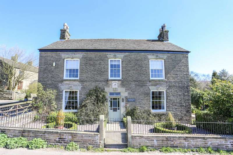 6 Bedrooms Detached House for sale in Rowarth, High Peak, Derbyshire, SK22