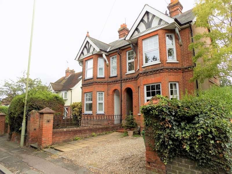 4 Bedrooms Semi Detached House for sale in Eggars Hill, Aldershot GU11