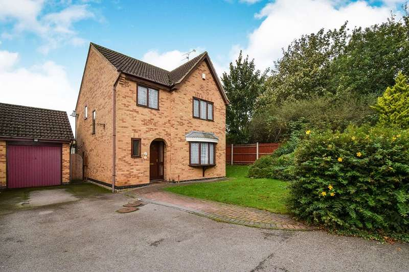 4 Bedrooms Detached House for sale in Haywood Close, Leicester, LE5