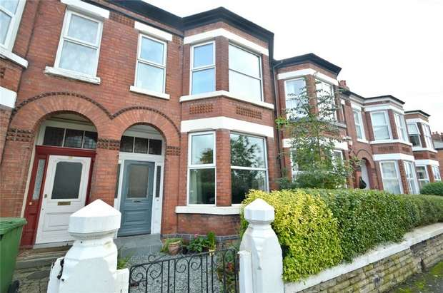 4 Bedrooms Terraced House for sale in Lowfield Road, Cale Green, Stockport, Cheshire