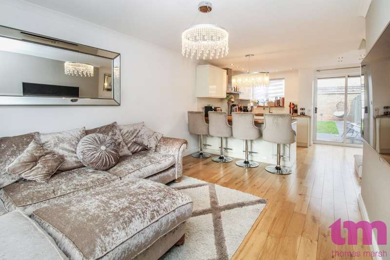2 Bedrooms End Of Terrace House for sale in Carew Close, Chafford Hundred