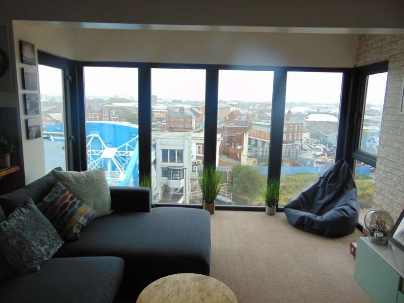 2 Bedrooms Apartment Flat for rent in Old Harbour Court, 10 Wincolmlee, City centre , HU2