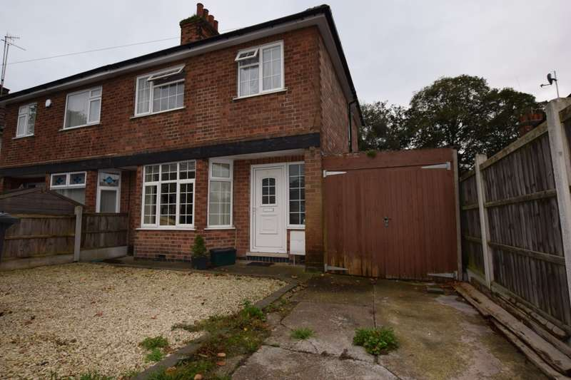 3 Bedrooms Semi Detached House for rent in George Street, Arnold, Nottingham