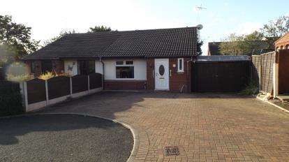 2 Bedrooms Bungalow for sale in Abington Close, Crewe, Cheshire