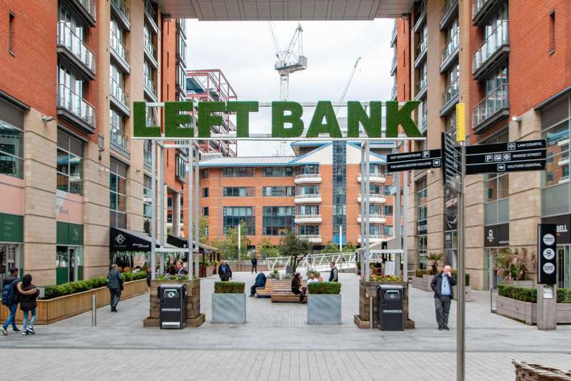 2 Bedrooms Apartment Flat for sale in Leftbank, Manchester, VIRTUAL TOUR AVAILABLE