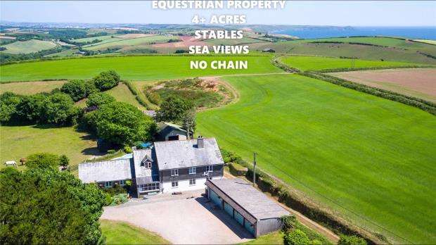 4 Bedrooms Detached House for sale in St. Winnolls, Nr Downderry, Torpoint, Cornwall