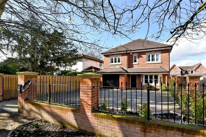 6 Bedrooms Detached House for sale in Chestnut Avenue, Wokingham, Berkshire, RG41