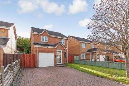 3 Bedrooms Detached House for sale in Springcroft Crescent, Baillieston, Glasgow, Lanarkshire