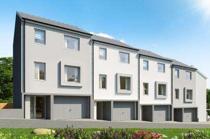 3 Bedrooms End Of Terrace House for sale in Criccieth Development, Criccieth, Gwynedd, LL52