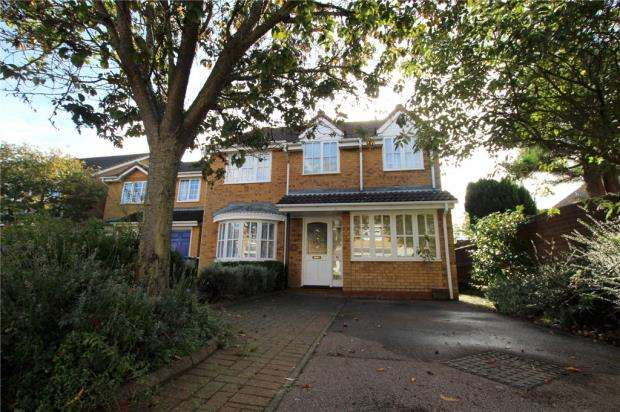 4 Bedrooms Detached House for sale in Mount Drive, Purdis Farm, Ipswich