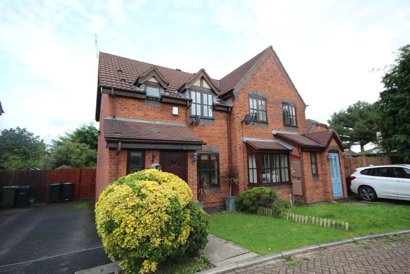 3 Bedrooms Semi Detached House for sale in Barwoods Drive, Saltney