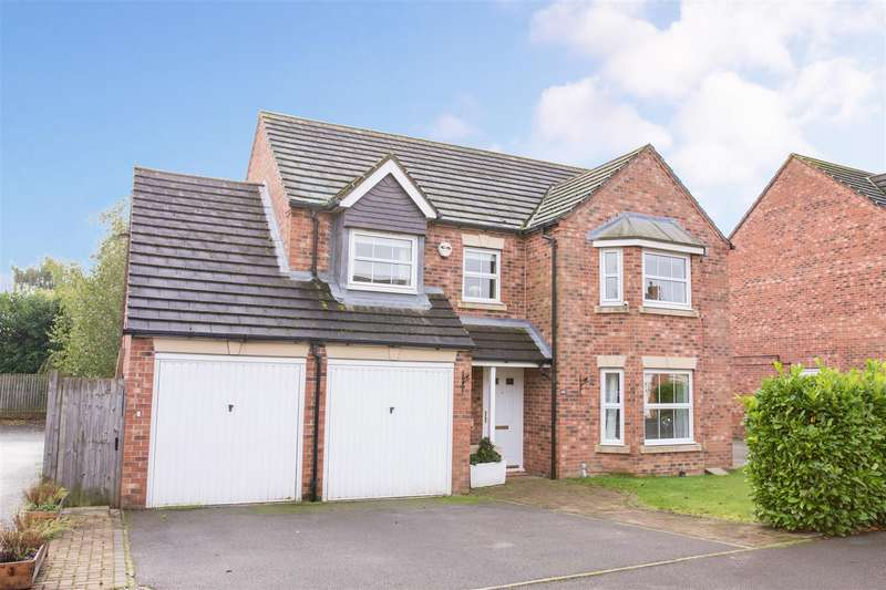 4 Bedrooms Detached House for sale in Sandwath Drive, Church Fenton, Tadcaster
