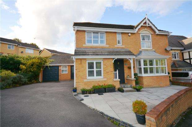 4 Bedrooms Detached House for sale in Babbage Way, Bracknell, Berkshire