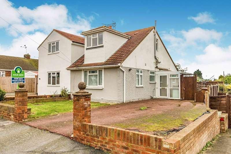 3 Bedrooms Semi Detached Bungalow for sale in Bettescombe Road, Rainham, Kent, ME8
