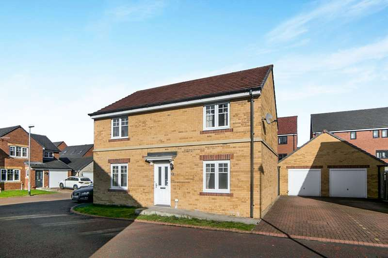 4 Bedrooms Detached House for sale in Nunns Way, Blaydon-On-Tyne, Tyne And Wear, NE21