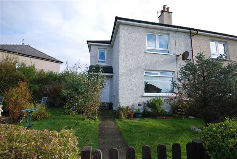 3 Bedrooms Semi Detached House for sale in Rowanside Terrace, Ardrossan