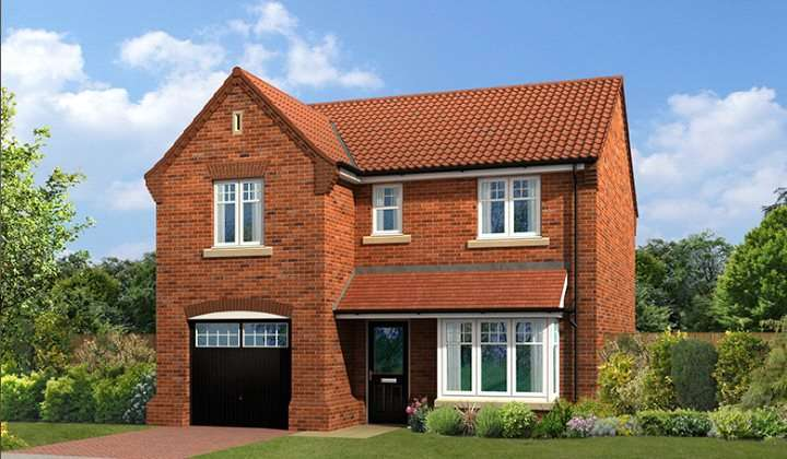4 Bedrooms Detached House for sale in Swale Close, Langthorpe, Boroughbridge, York