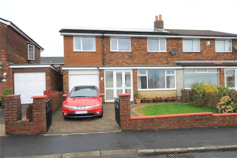 4 Bedrooms Semi Detached House for sale in Greenways, Delves Lane, Consett, DH8