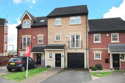 4 Bedrooms Town House for sale in Holywell Heights, Sheffield, South Yorkshire
