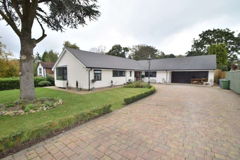 3 Bedrooms Detached Bungalow for sale in Valley Close, Cheadle