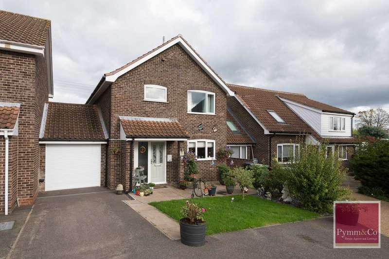 3 Bedrooms Detached House for sale in Sunny Close, New Costessey, Norwich