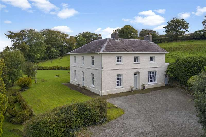 11 Bedrooms Detached House for sale in Manordeifi, Llechryd, Cardigan, Sir Ceredigion