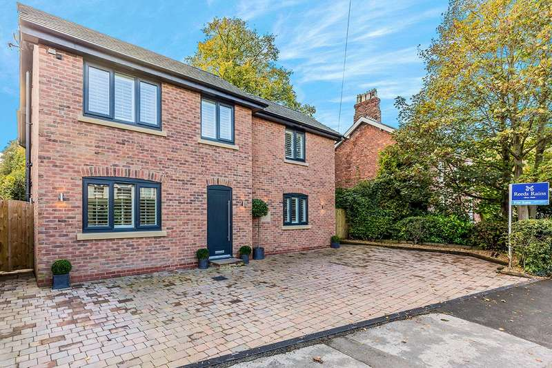 4 Bedrooms Detached House for sale in Main Road, Goostrey, Crewe, CW4