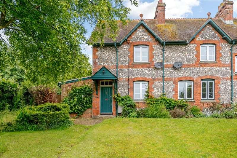 3 Bedrooms Semi Detached House for sale in Longstock, Stockbridge, Hampshire, SO20