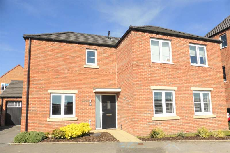 4 Bedrooms Detached House for sale in Cygnet Drive, Mexborough, S64 0FG