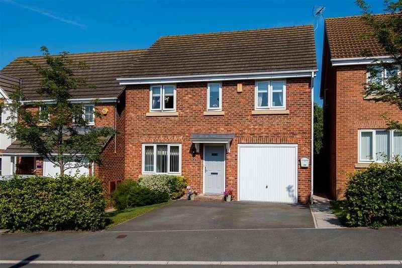 4 Bedrooms Detached House for sale in Kilner Way, Castleford, WF10 5FX