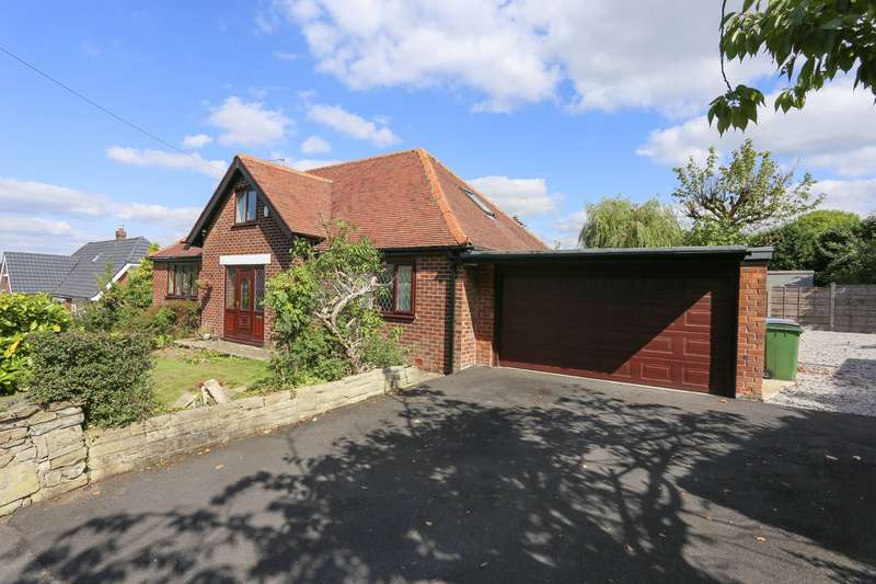 5 Bedrooms Detached Bungalow for sale in Manor Hill Road, Marple, Cheshire, SK6