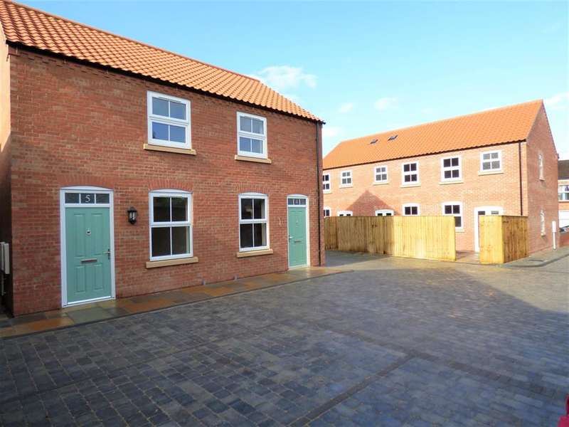 2 Bedrooms Semi Detached House for sale in Thames Street, Louth, LN11 7AD